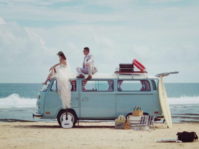 Blue Classic Car by Bali Classic Community - 003