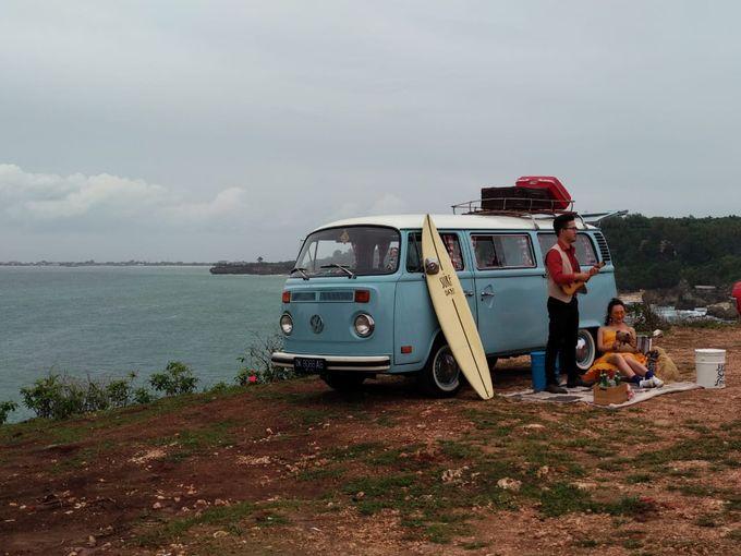 Blue Classic Car by Bali Classic Community - 002