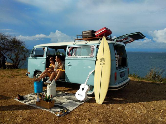 Blue Classic Car by Bali Classic Community - 004