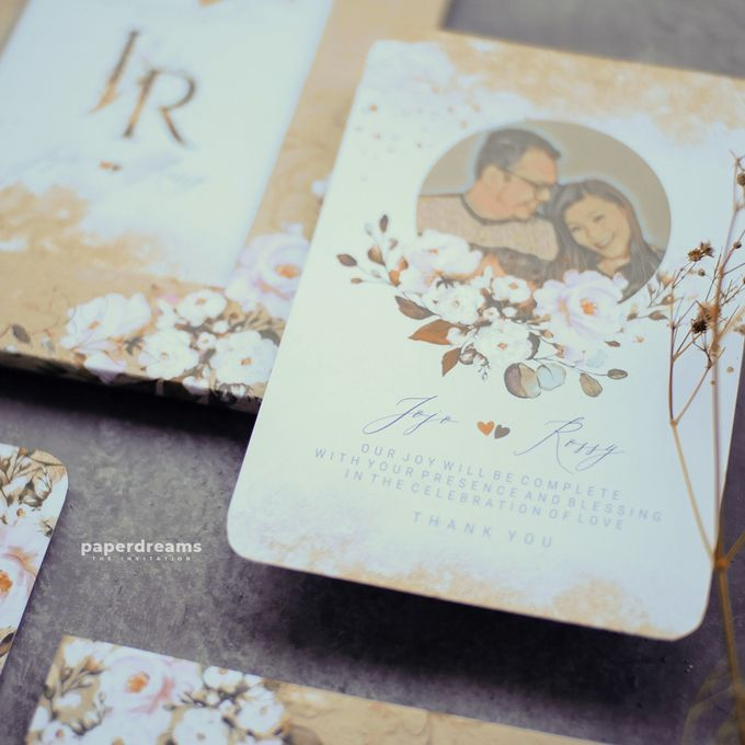 Invitation Mix Photo Frame - JOJO & ROSSY by Jogja Wedding Net - 002