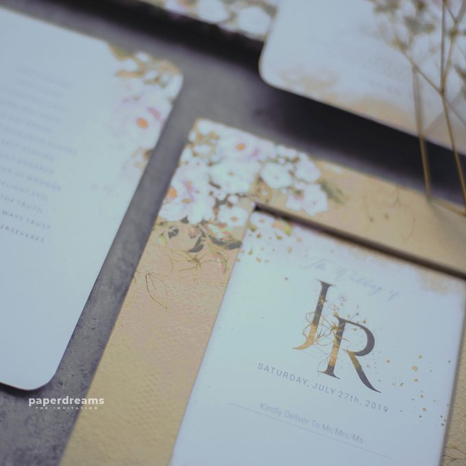 Invitation Mix Photo Frame - JOJO & ROSSY by Jogja Wedding Net - 001