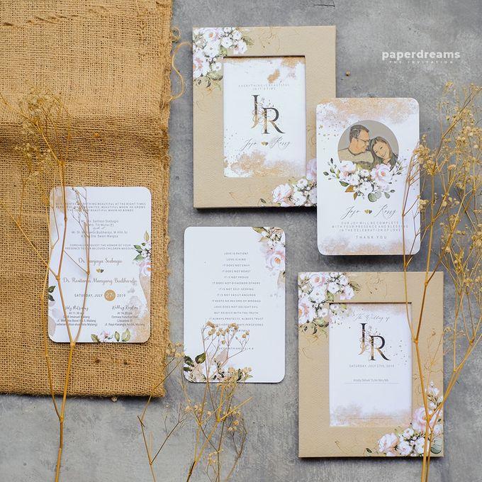 Invitation Mix Photo Frame - JOJO & ROSSY by Jogja Wedding Net - 005