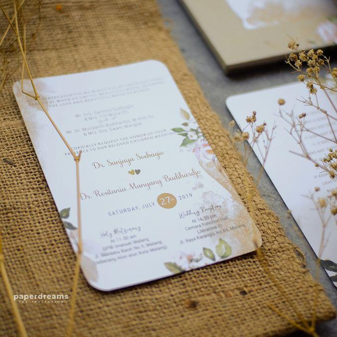 Invitation Mix Photo Frame - JOJO & ROSSY by Jogja Wedding Net - 006