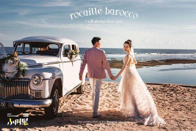 White Classic Car by Bali Classic Community - 001