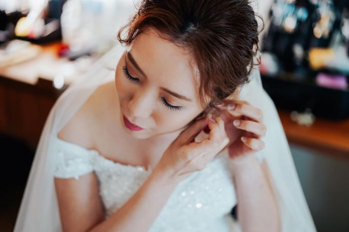Bride Rachel ❤️ by Shino Makeup & Hairstyling - 006