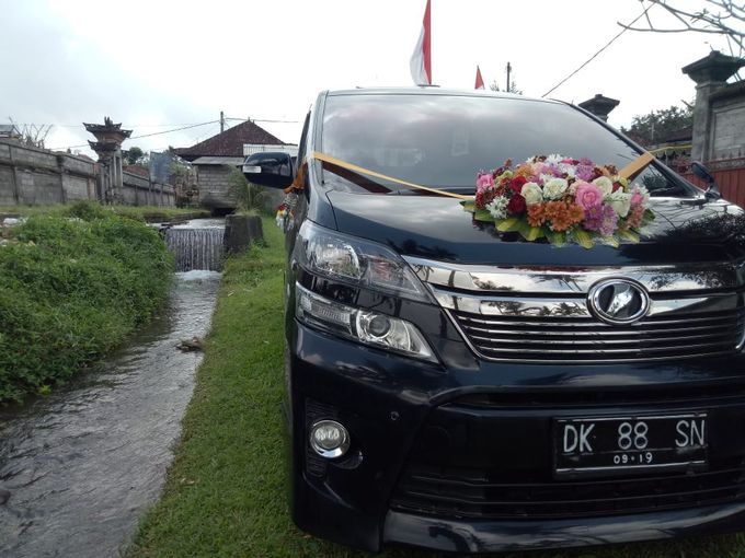 Wedding Car by Bali Alphard Rental - 004