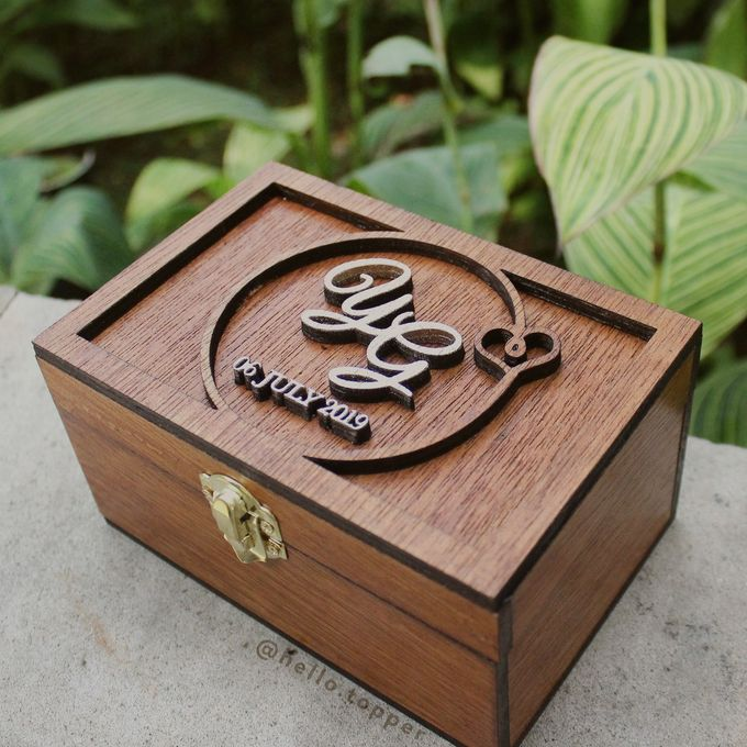 Wedding Box by The White Dove - 009