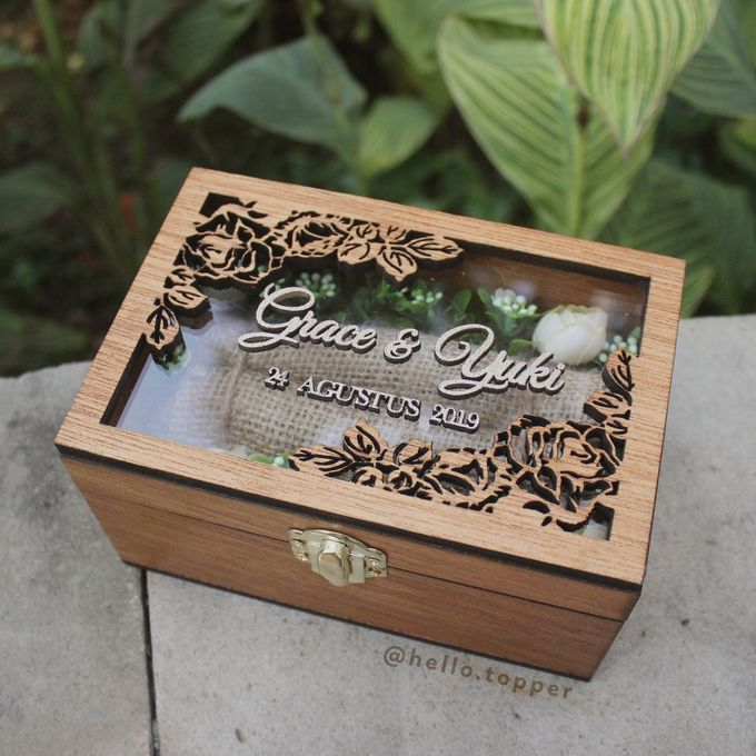 Wedding Box by The White Dove - 008