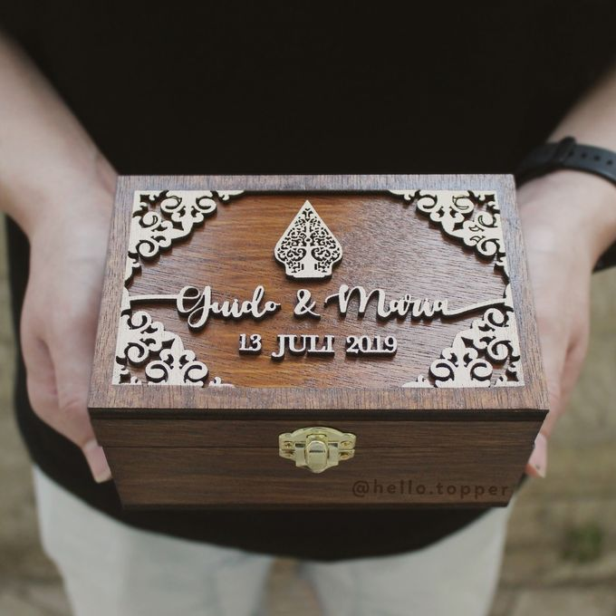 Wedding Box by The White Dove - 006