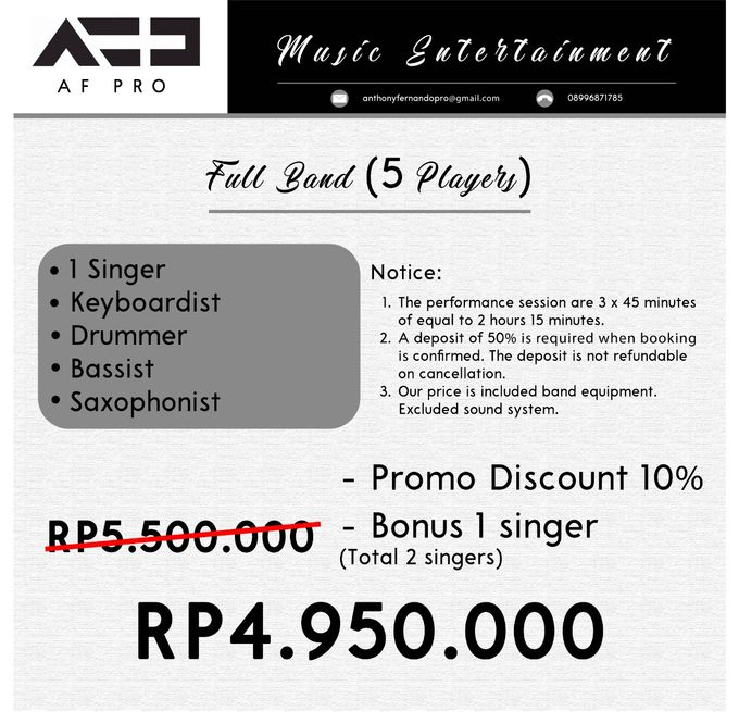 All About Perform And Gig by AF Music Entertaiment - 006