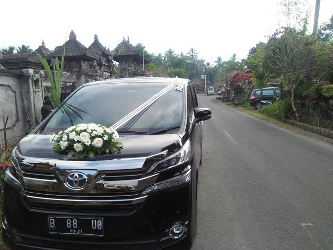 Wedding Car by Bali Alphard Rental - 006