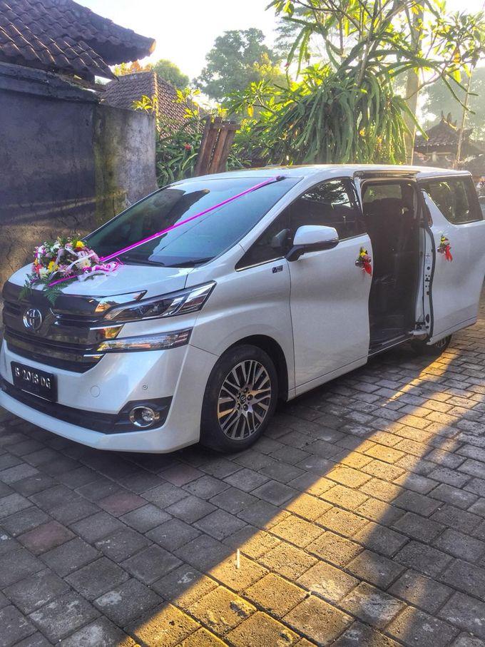 Wedding Car by Bali Alphard Rental - 007
