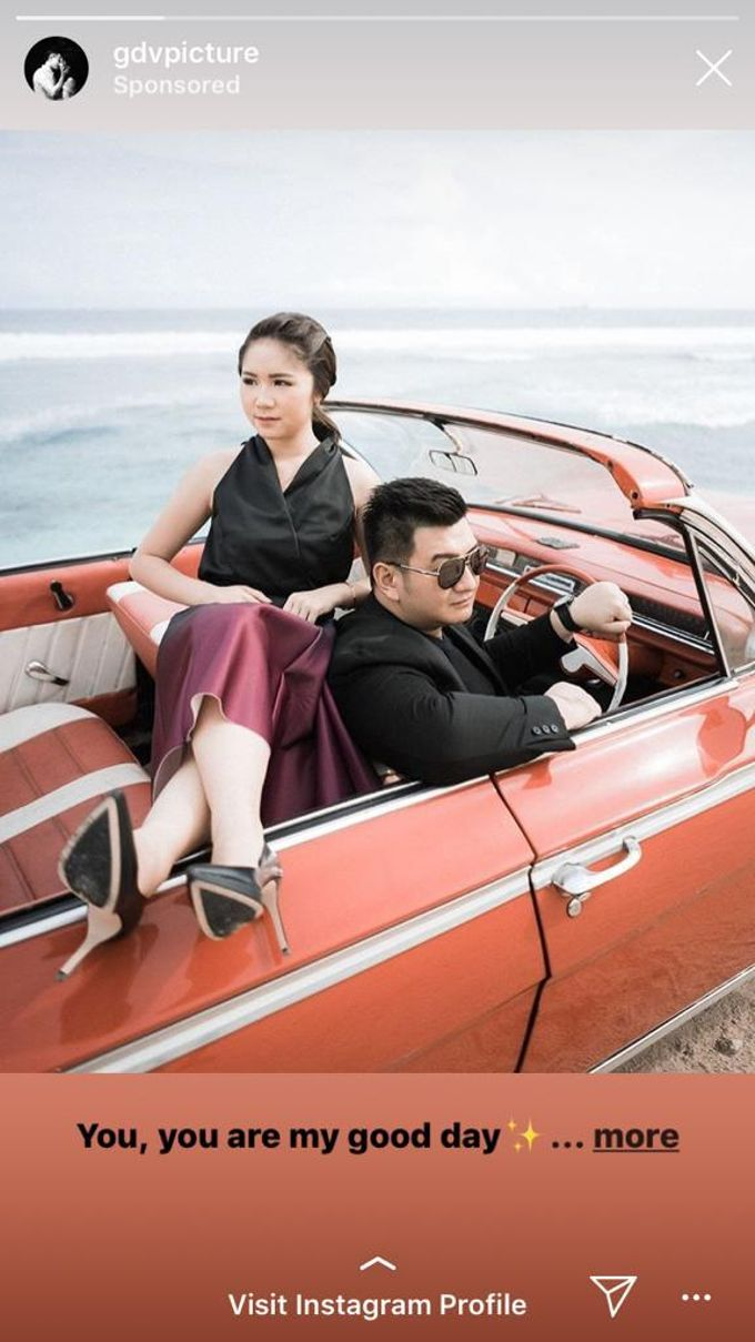 Red Classic Car by Bali Classic Community - 010