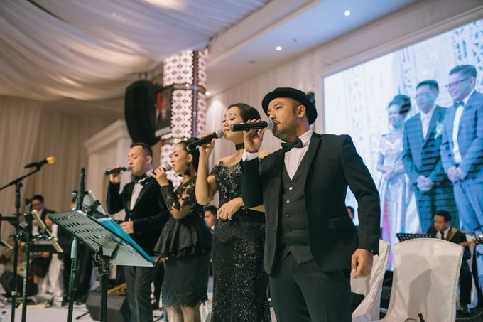 Wedding of Christopher Froggat & Maria Isadora by Hanny N Co Orchestra - 004