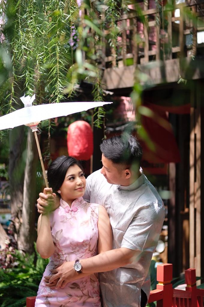 Tian & Tia Prewedding by csmakeuparts - 047