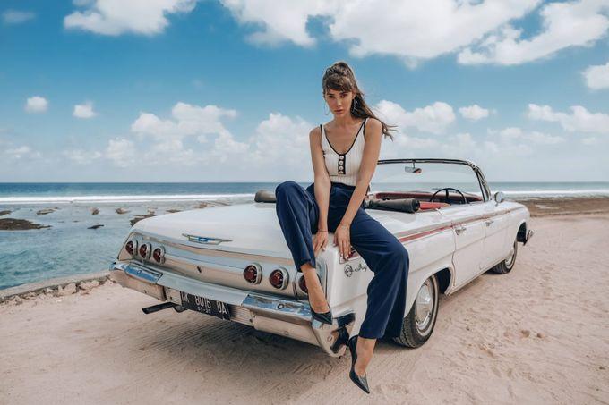 White Classic Car by Bali Classic Community - 013