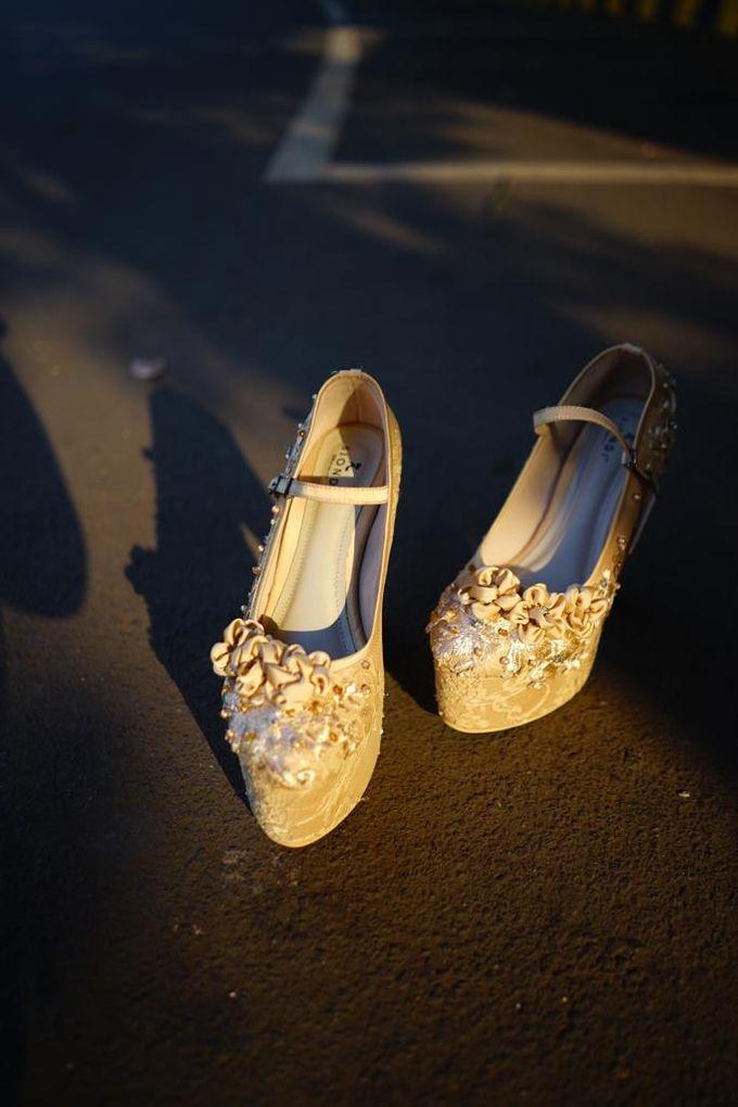 Tania N Iqbal Wedding by Wedding shoes by Biondi - 005