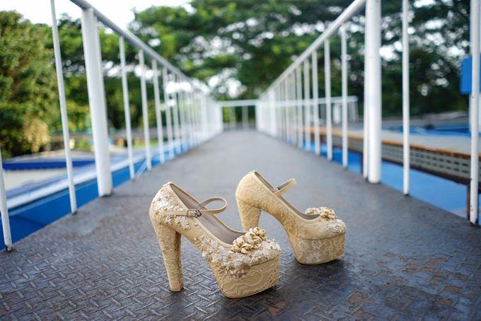 Tania N Iqbal Wedding by Wedding shoes by Biondi - 002