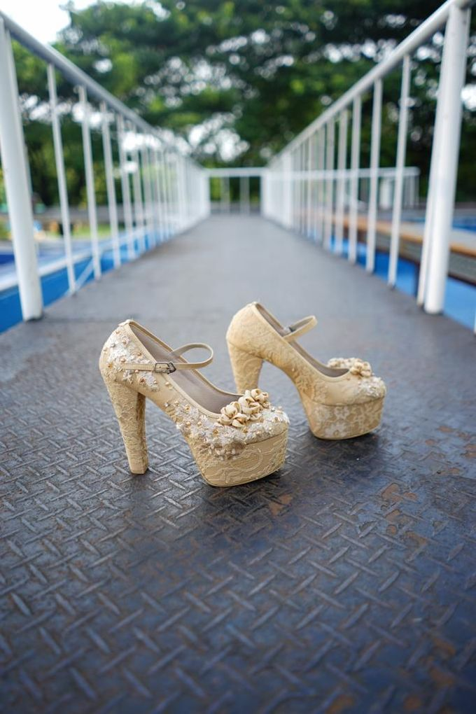 Tania N Iqbal Wedding by Wedding shoes by Biondi - 006
