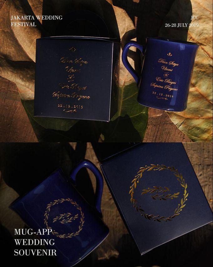 Wedding E&D by Mug-App Wedding Souvenir - 002