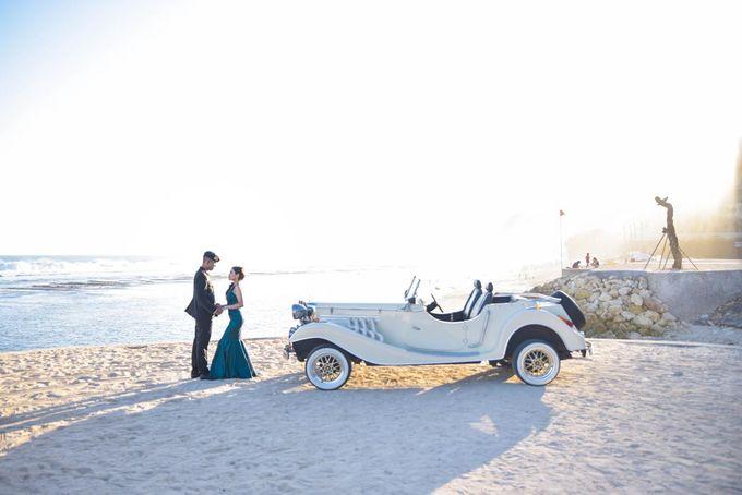 White Classic Car by Bali Classic Community - 012