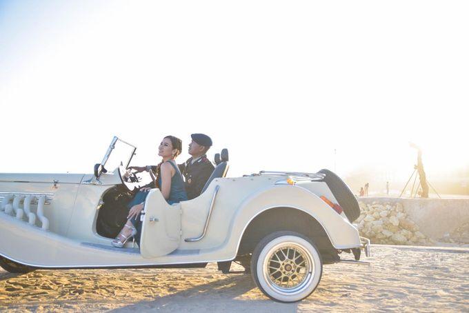 White Classic Car by Bali Classic Community - 007