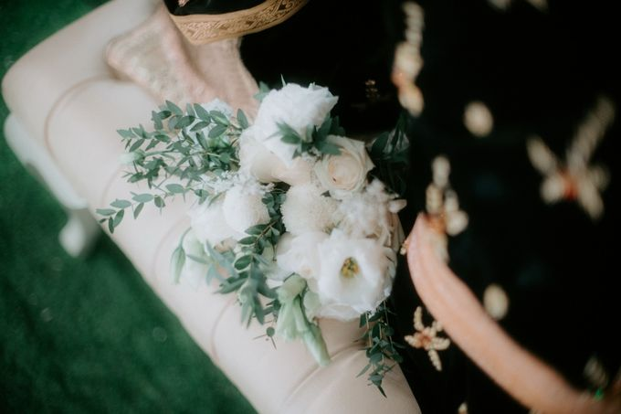 The Wedding of Ms. N by Tiffany's Flower Room - 001