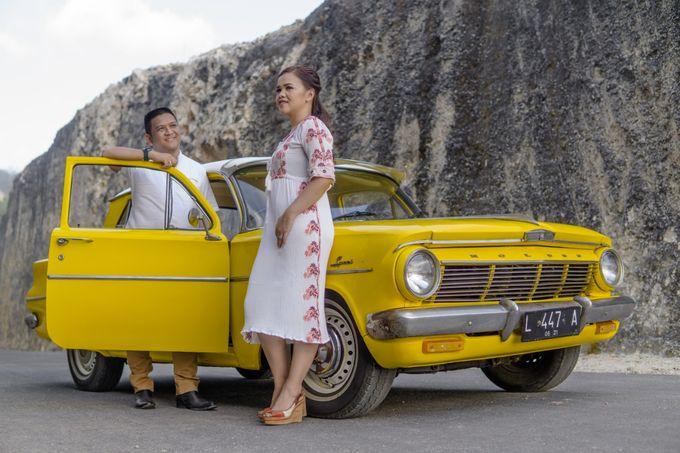 Yellow Classic Car by Bali Classic Community - 018