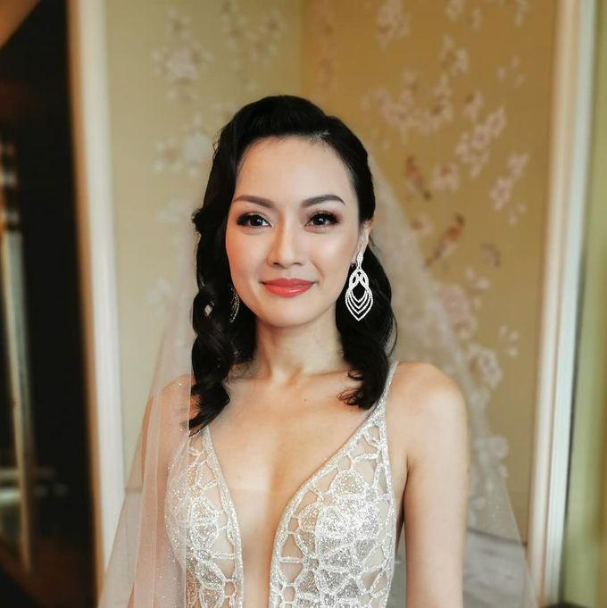 Vik & Danna's Wedding by WillieHaz Hair & Beauty - 002