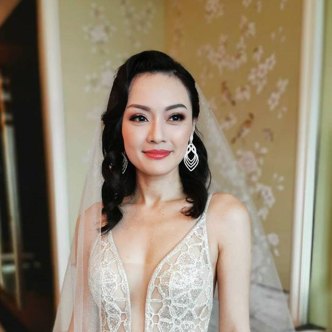 Vik & Danna's Wedding by WillieHaz Hair & Beauty - 001