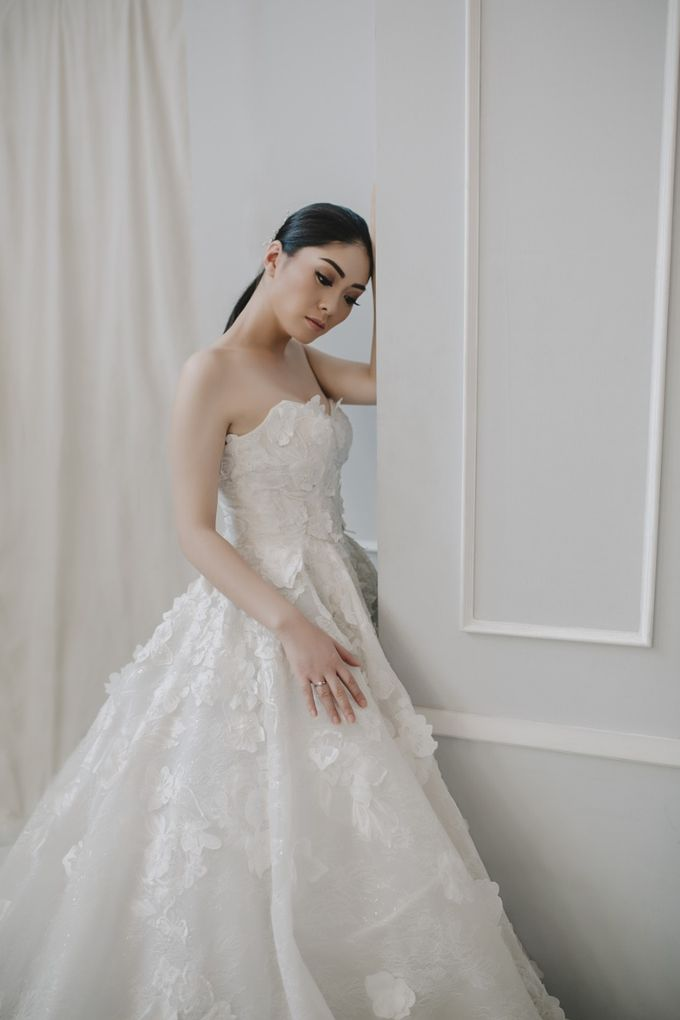 New Wedding Gown Collection by Elina Wang Bridal - 001