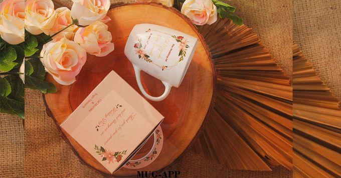 Wedding Cut&Roger by Mug-App Wedding Souvenir - 005