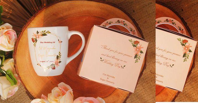 Wedding Cut&Roger by Mug-App Wedding Souvenir - 003
