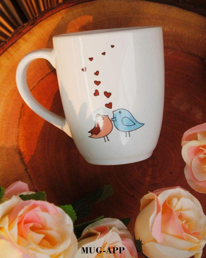 Wedding Cut&Roger by Mug-App Wedding Souvenir - 002