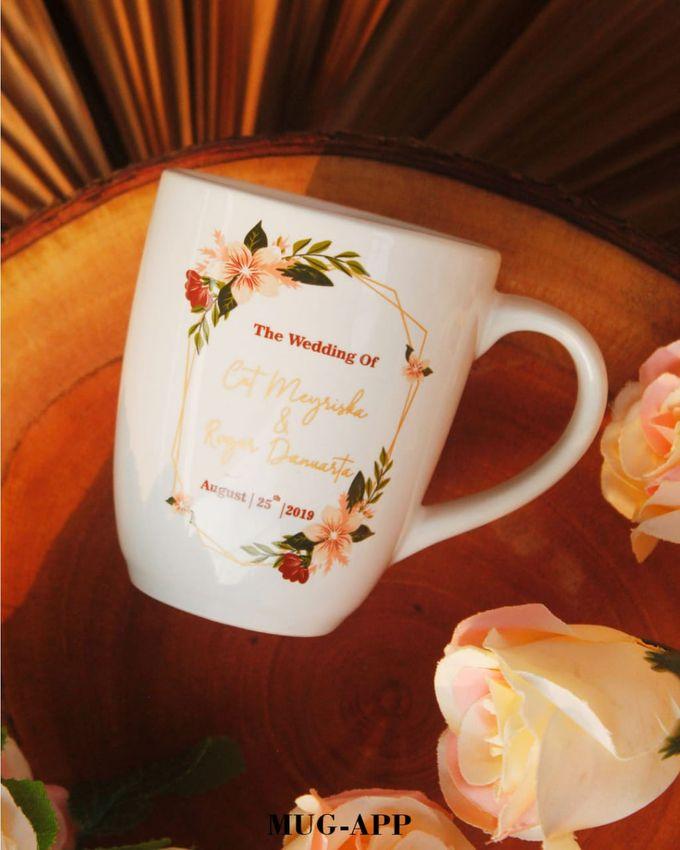 Wedding Cut&Roger by Mug-App Wedding Souvenir - 001
