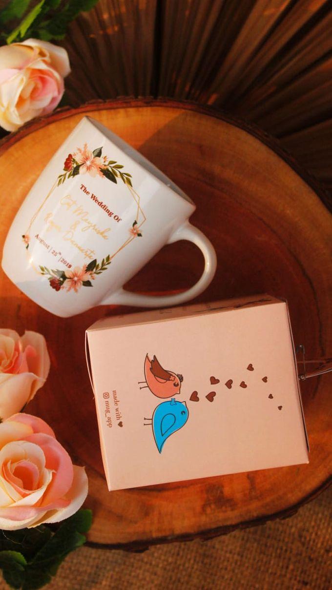 Wedding Cut&Roger by Mug-App Wedding Souvenir - 004