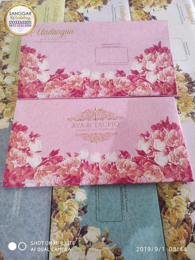 AYA & TAUFIQ (Neat Flory Luxury) by Sanggar Undangan - 012