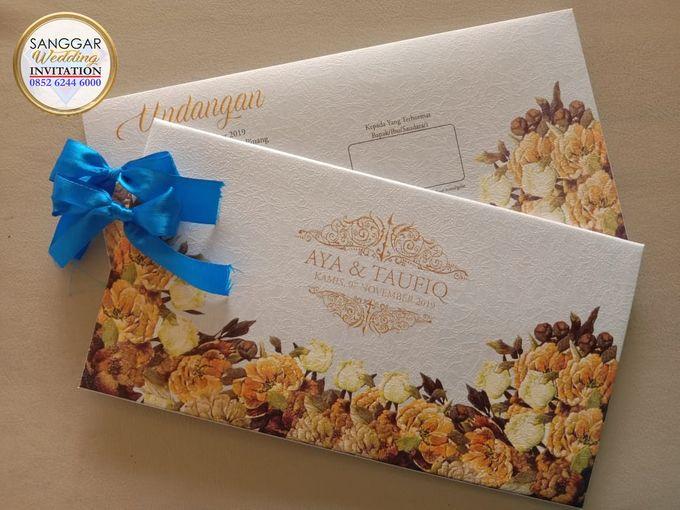 AYA & TAUFIQ (Neat Flory Luxury) by Sanggar Undangan - 018
