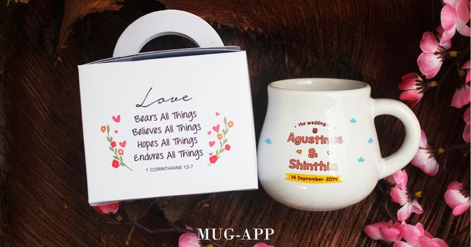 Mug Gentong Wedding Agustinus&shinthia by Mug-App Wedding Souvenir - 001