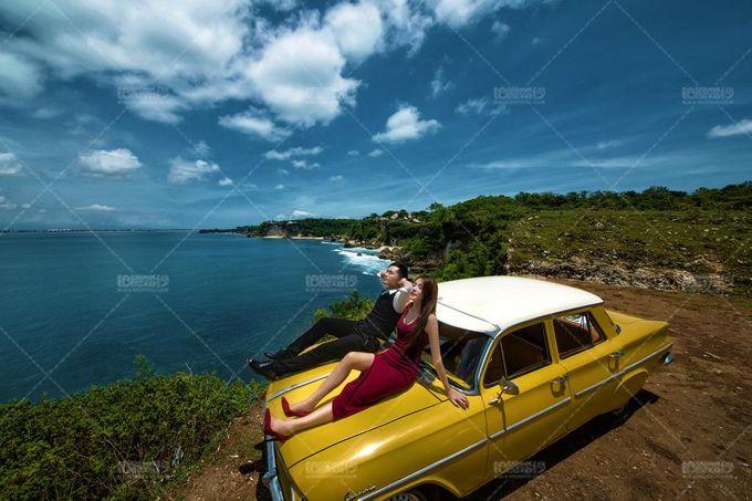 Yellow Classic Car by Bali Classic Community - 015
