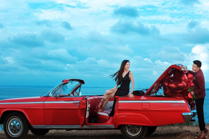 Red Classic Car by Bali Classic Community - 024