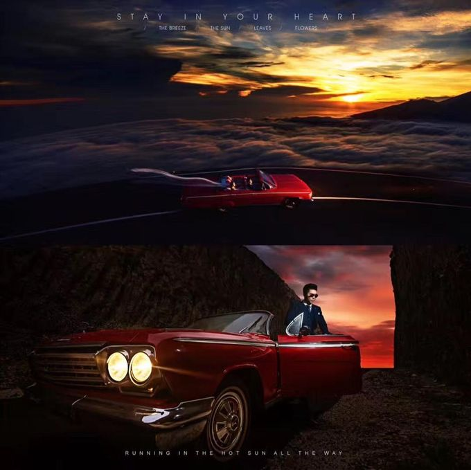 Red Classic Car by Bali Classic Community - 017