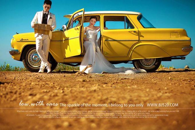 Yellow Classic Car by Bali Classic Community - 002