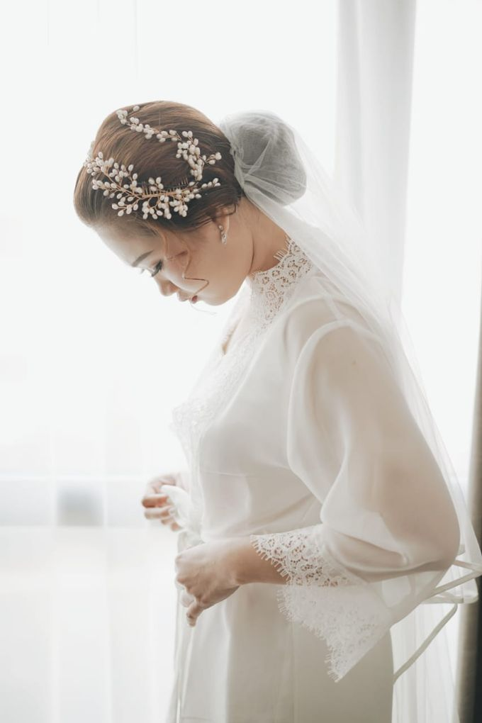 Wedding Of Juliyanto & Desliyanti by Elina Wang Bridal - 006