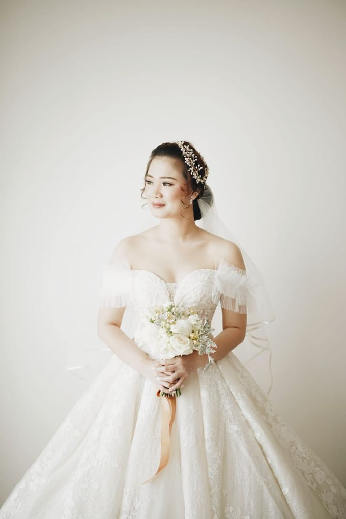 Wedding Of Juliyanto & Desliyanti by Elina Wang Bridal - 010