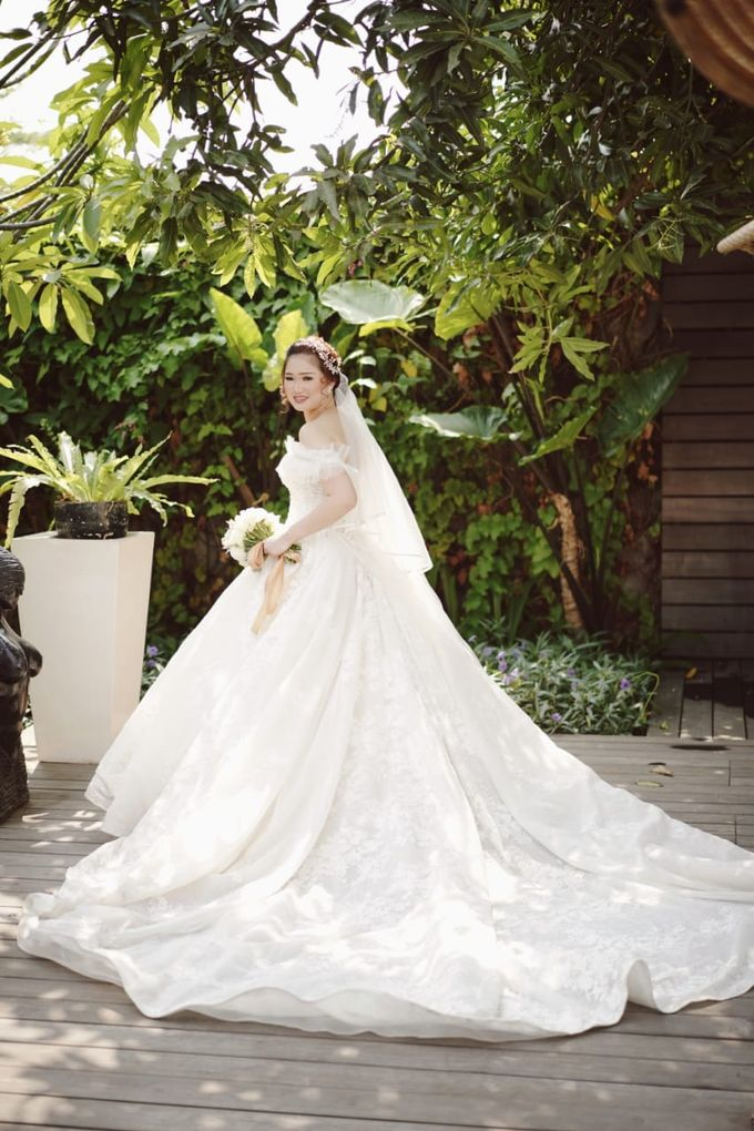 Wedding Of Juliyanto & Desliyanti by Elina Wang Bridal - 011