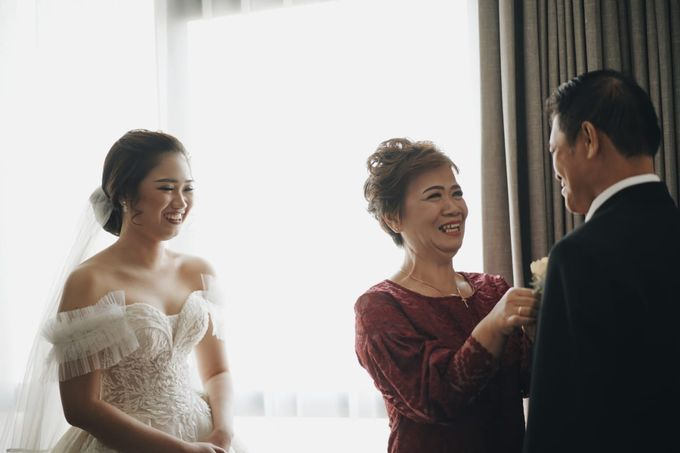 Wedding Of Juliyanto & Desliyanti by Elina Wang Bridal - 004