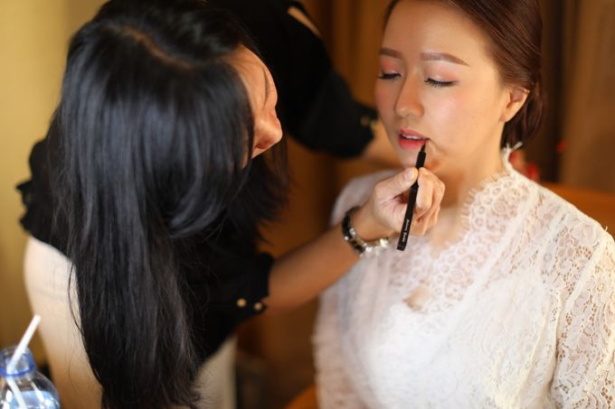 DESY & MANDY  Wedding by Marsia Yulia Signature. Natural and Korean Make Up Specialist. - 011