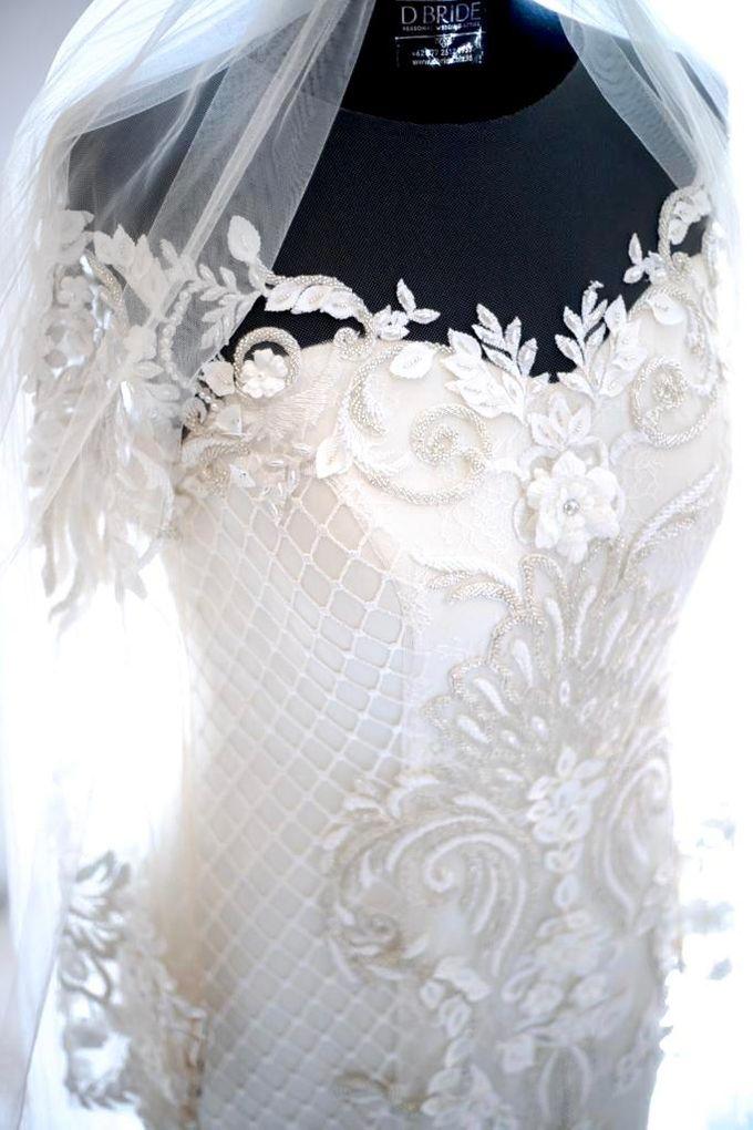 Happy wedding to fany & Ivan by D BRIDE - 008