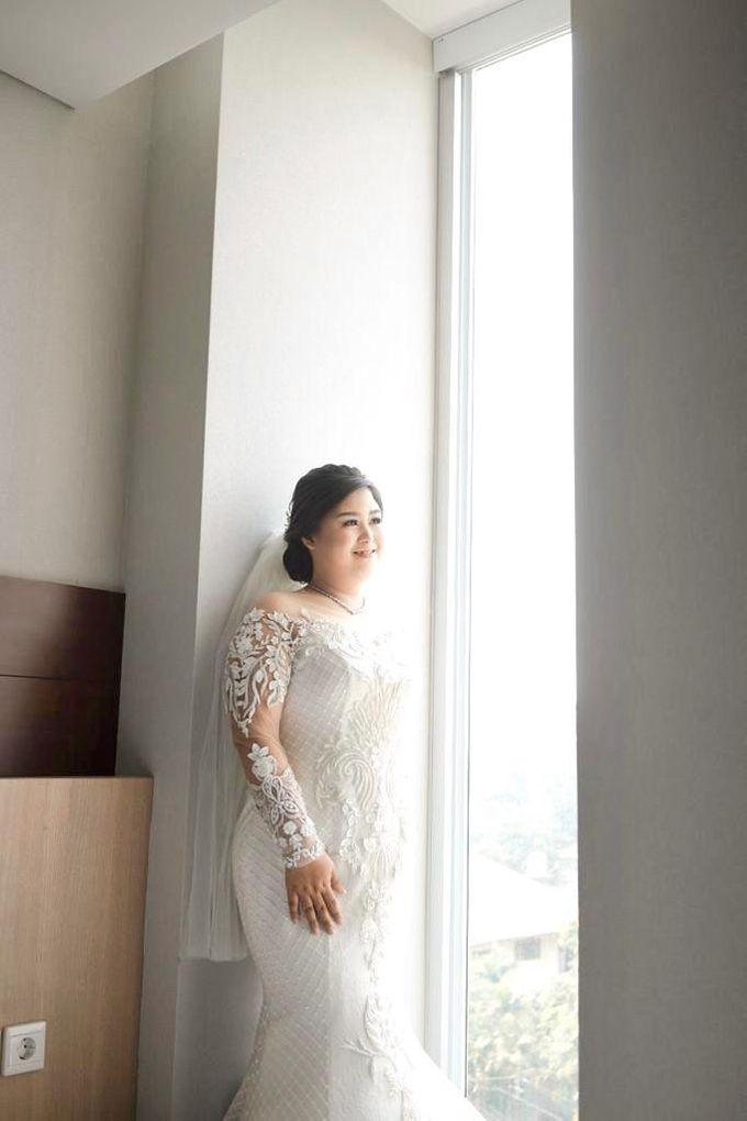 Happy wedding to fany & Ivan by D BRIDE - 009